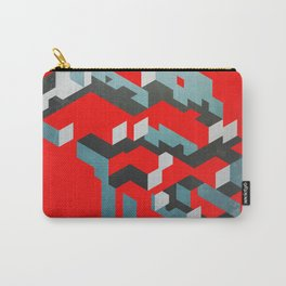 Very red Carry-All Pouch