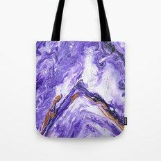 Chevron Amethyst 1 Tote Bag