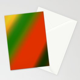 red green yellow texture art Stationery Cards