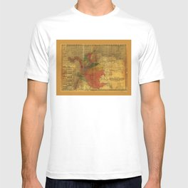 Mapa de la Republica de Colombia by Enrique Vidal (1912) T-shirt