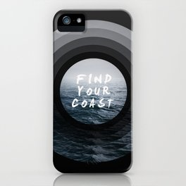 Find Your Coast iPhone Case
