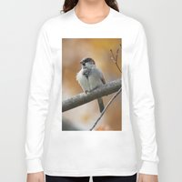 sparrow Long Sleeve T-shirts featuring Sparrow by Tammi Hofstetter
