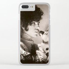 PRINCE - PURPLE RAIN 1983 Clear iPhone Case