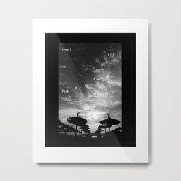 Sky  Explosion Metal Print