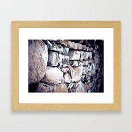 Stone Cold Framed Art Print