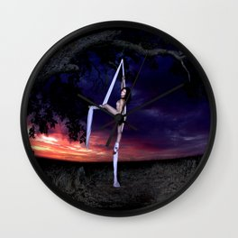 Ariel Nude & Silks Wall Clock