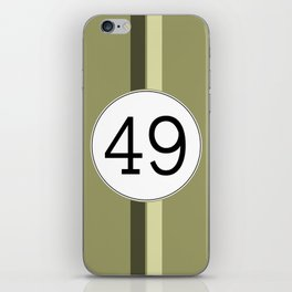 Rally 49 iPhone Skin