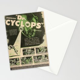 Dr. Cyclops Stationery Cards