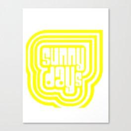 Sunny Days #society6 #decor #buyart Canvas Print