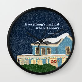 Gilmore girls house Wall Clock