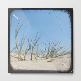 Sand Dunes - Through The Viewfinder (TTV) Metal Print