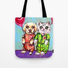 Tiny Pajama Party Tote Bag