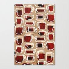 morning pattern Canvas Print