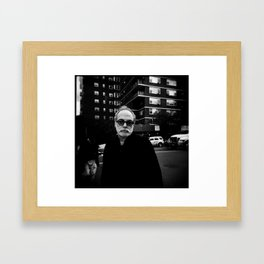 NYC holga portraits 6 Framed Art Print