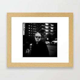 NYC holga portraits 6 Framed Art Print