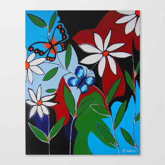 A Butterflies Paradise Canvas Print