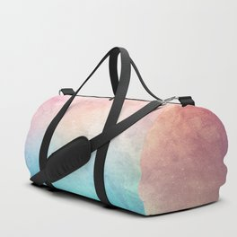 Fire and Ice - Watercolor Painting Duffle Bag