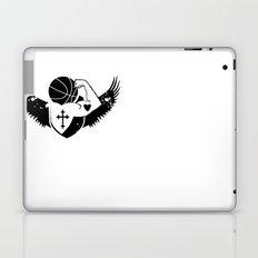 Faith Strength Heart Basketball Laptop & iPad Skin