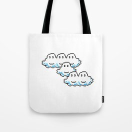Super Mario Clouds Tote Bag