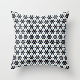 MyKaleidoWork_Smurf#1 Throw Pillow