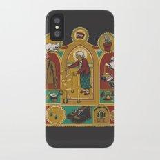 Ye Oldé Grandma Triptych Slim Case iPhone X
