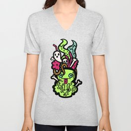 Zombie Breath Cocktail Unisex V-Neck
