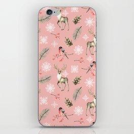 Xmas Pattern Pink #socieyt6 #buyart iPhone Skin