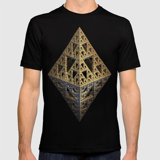 multi triangle T-shirt