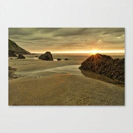 Putsborough Sands Canvas Print