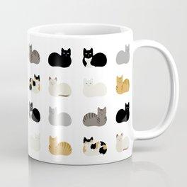 Cat Loaf 2 - White Ground Coffee Mug