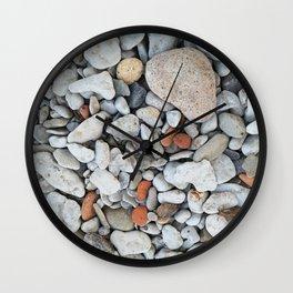 nordic pebbles I Wall Clock