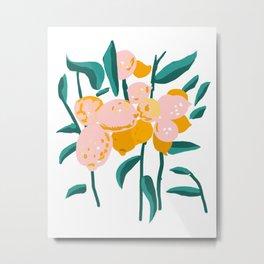 Lemon Love #painting #botanical Metal Print