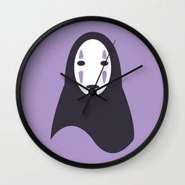 No-Face Wall Clock