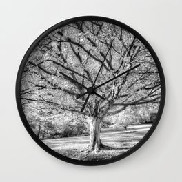 The Ghost Tree Wall Clock