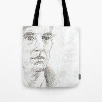 sherlock Tote Bags featuring Sherlock by Amanda Powzukiewicz
