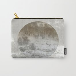 Snowing Forest Carry-All Pouch