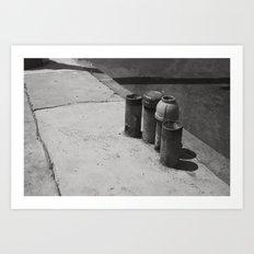 Loiterers Art Print