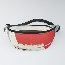 retro united states lines   no finer way to u.s.a  Fanny Pack