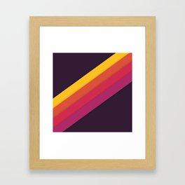 Summer Track Framed Art Print