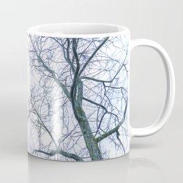 Abstract tree trunks Coffee Mug