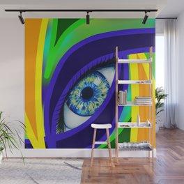 Colorful Eye Wall Mural