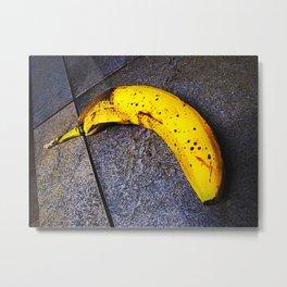 Sad Bannana - 001 Metal Print