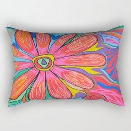First big flower Rectangular Pillow