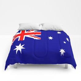 The Flag of Australia Comforters