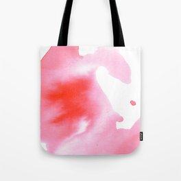 Peach Watercolour Tote Bag