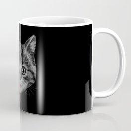 Black Pussy Cat Coffee Mug