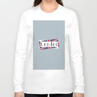 calendars Long Sleeve T-shirts featuring Home, Love, Illustration, Heart, london  by Shabby Studios Design & Illustrations ..