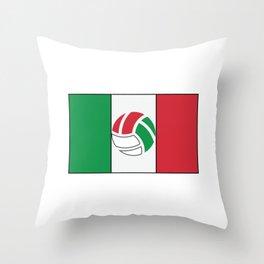 Mexican National Team Flag Football Design Throw Pillow