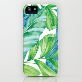 Tropical Canopy iPhone Case