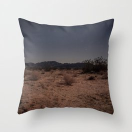 2am in the Desert Throw Pillow